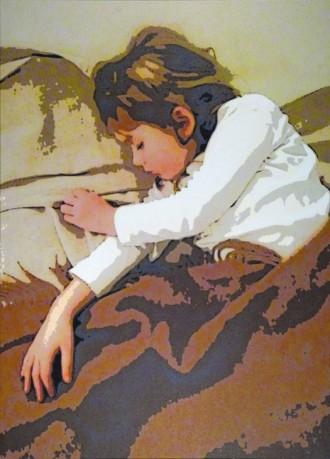 Salmeyer & Rumpo, Schlafende Lena, 2007 (115 x 83 cm)