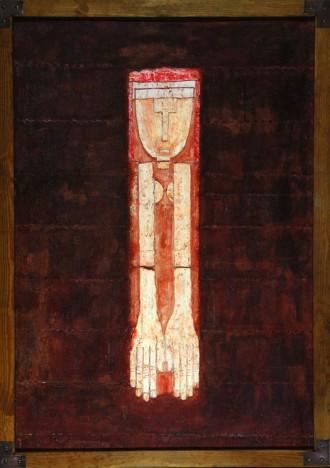 Hannes H. Hammerbach, Mädchen, 2001 (100 x 70 cm)