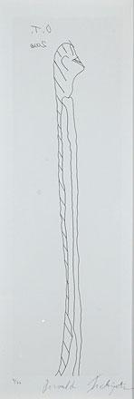 Otto Tschiertner, Mensch, 2000 (56 x 26 cm)