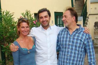 Barbara Bartmann, Bruno Ribeiro und Franz Salmeyer