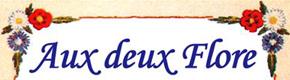 Logo Aux deux Flore