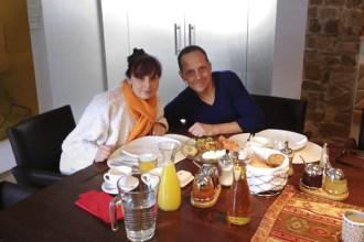 Nora Frey und Christian Gartner