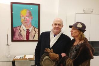 Prof Herbert Lachmayer mit Barbara Bartmann