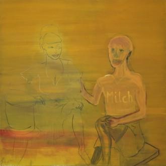 Anton Herzl, Milch, 2001 (200 x 200 cm)
