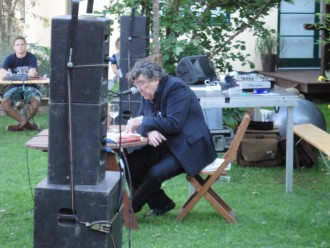 Peter Patzak reads at Höfefest